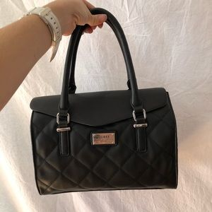 Black Guess Purse and Matching Wallet
